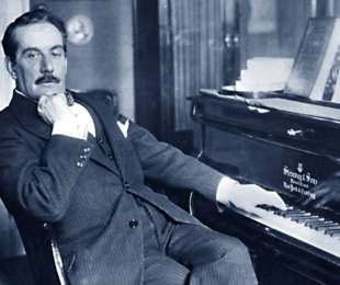Giacomo Puccini, the great lucchese composer